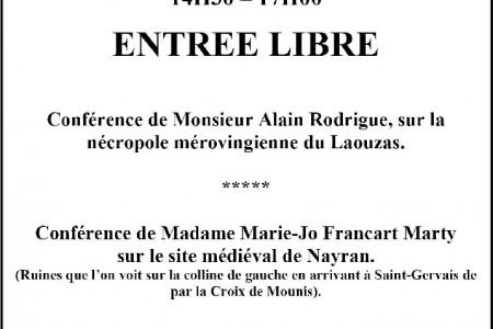 6 octobre 2012 – Après-midi du patrimoine