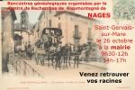 26 octobre 2014 – Généalogie à Saint-Gervais sur Mare