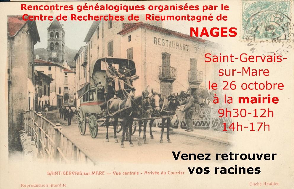 genealogie à Saint-Gervais sur Mare