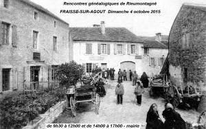 Dimanche 4 octobre 2015 à Fraïsse-sur-Agoût - Généalogie
