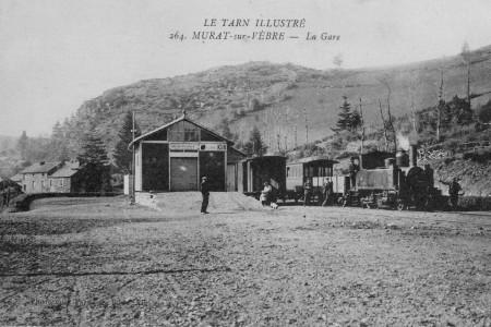 Juillet et août 2016 – expo photo sur le petit train de Lacaze à Murat