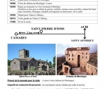 10 septembre 2016 – De Camarès à Vabres l'abbaye – sorte