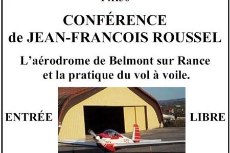 Samedi 30 septembre 2017 – Après-midi du patrimoine sur l'aérodrome de Belmont-sur-rance