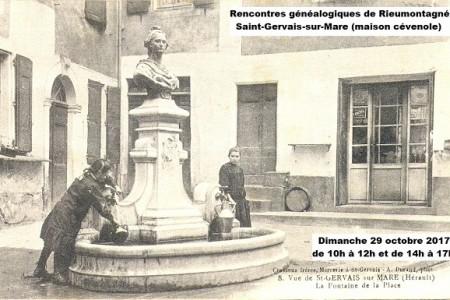 29 octobre 2017 – Généalogie à Saint-gervais-sur-Mare
