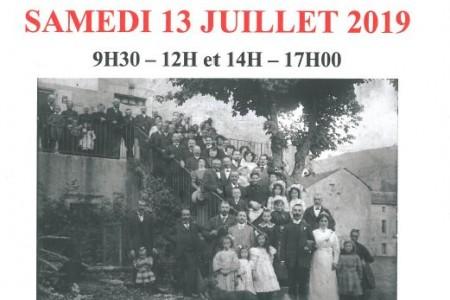 13 juillet et 3 août 2019 : journée généalogie à Rieumontagné