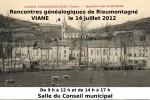 14 juillet 2012 – Rencontres généalogiques à Viane