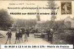 6 octobre 2013 – Généalogie à Fraïsse-sur-Agoût