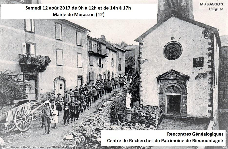 Murasson - 12 aout 2017 - rencontres genealogiques