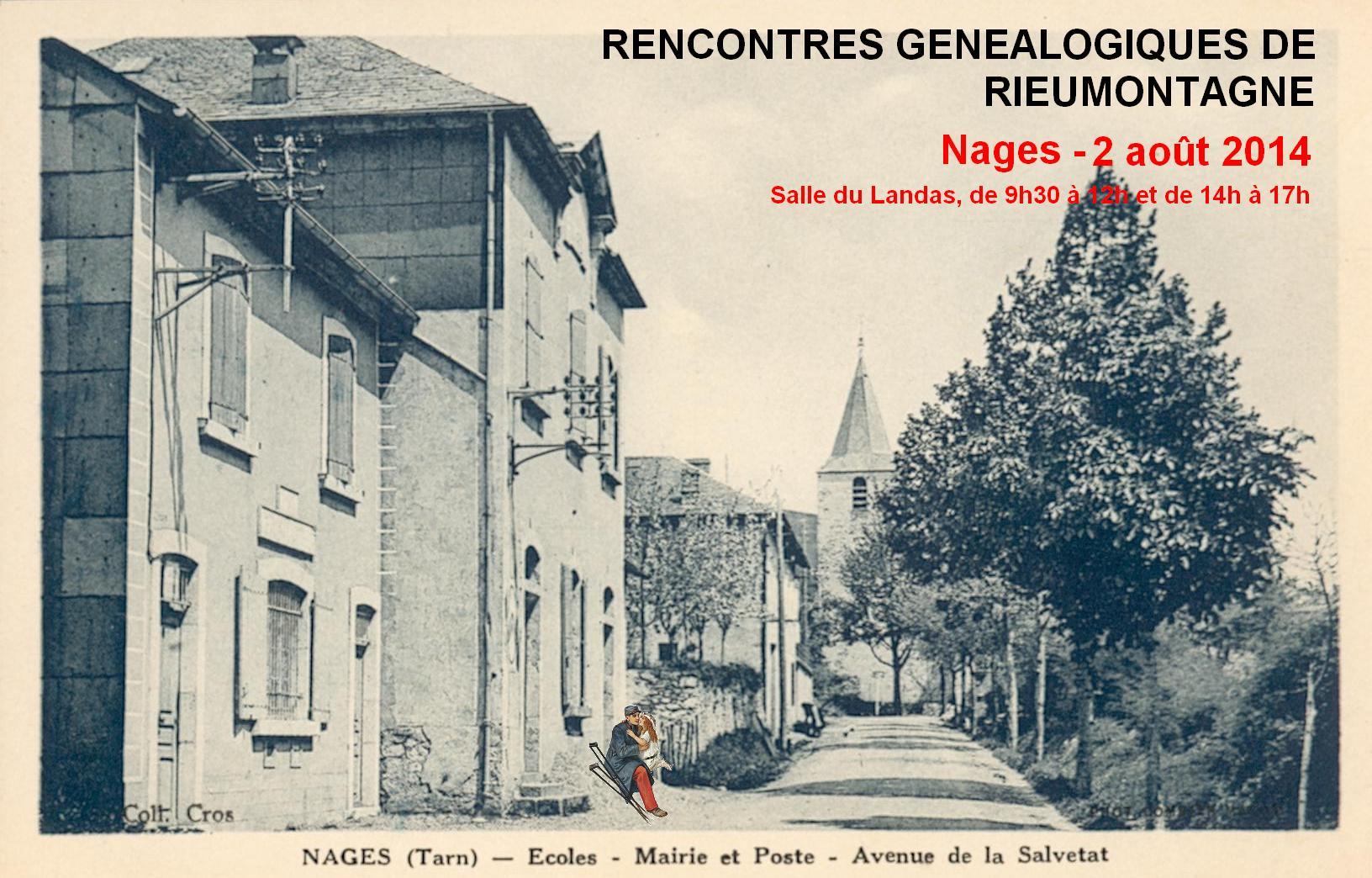 2 août 2014 – Rencontres généalogiques à Nages
