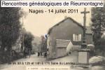 14 juillet 2011 – Rencontres généalogiques à Nages