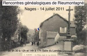 Nages - rencontre généalogique 14 juillet 2011